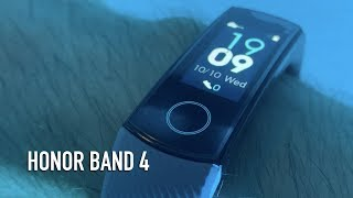 Honor Band 4 Wrist-on Review | Should Fitbit worry?
