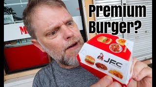 "JFC Premium ""Beef"" Burger?  They Have Got To Be Kidding!"