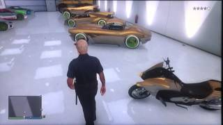 Il mio garage su Gta V Online
