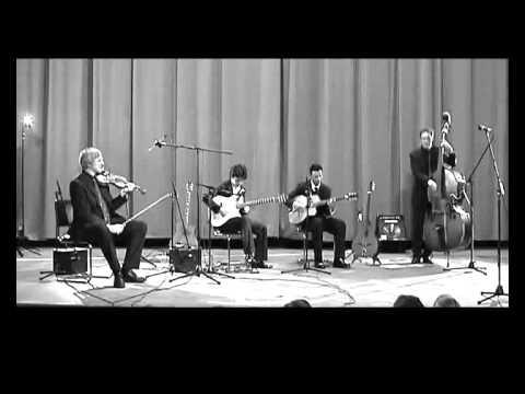 Nuages (Django Reinhardt) - Alexey Krupsky, Janko Lauenberger,  Bernd Huber, Anders Grop