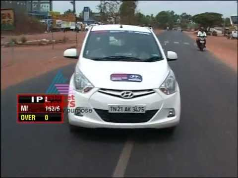 """Hyundai EON Mileage Drive""-Smart Drive 22,April 2012 Part 1"