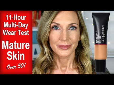 Foundation Friday Over 50 | Smashbox Full Coverage Foundation! thumbnail