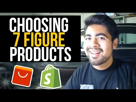 How To CHOOSE 7 Figure Products To Test | Shopify Dropshipping Tutorial thumbnail