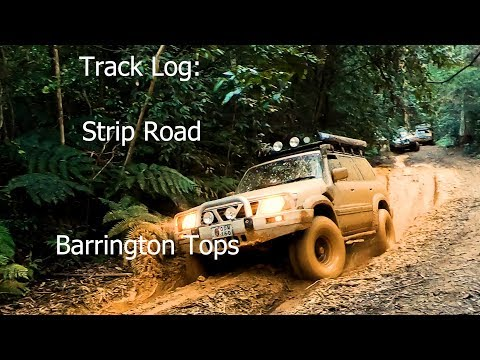 Track Log: Strip Road: Barrington Tops 4WD: Land And Lore Photograph