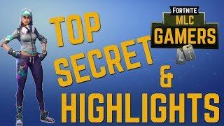 #MLCGamers TOP SECRET MISSION!?!?! Fortnite BEST KILLS & HIGHLIGHTS
