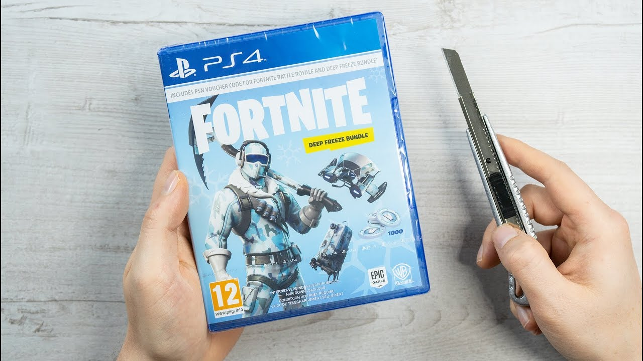 Playstation 4 Fortnite Deep Freeze Bundle Skin Giveaway