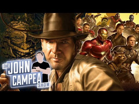 Indiana Jones 5 Needs Marvel Level Excellence Says Harrison Ford - The John Campea Show