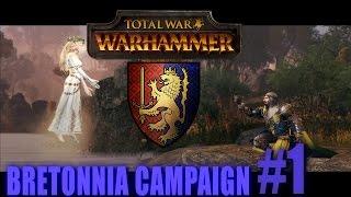 LOUEN LEONCOEUR - BRETONNIA CAMPAIGN - Total War: Warhammer #1