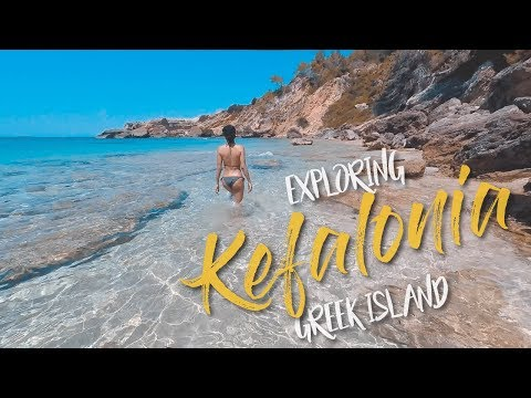 THE BEST GREEK ISLAND? KEFALONIA. GoPro Summer 2017 - Tom Voyage!