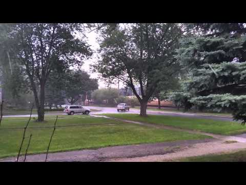 Hail storm Wheaton Il Dupage County