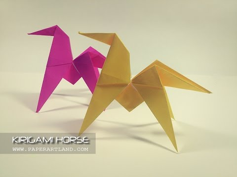 How To Make An Origami Horse Youtube