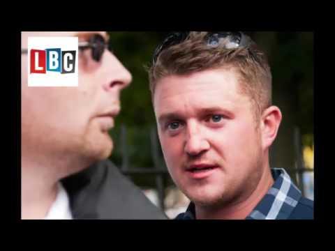 Tommy Robinson Humiliates Muslim Man On LBC Radio  EDL  UKIP  Britain First  Isl