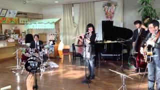 ミチエキコンサート スパノバジャズクインテット 2014年11月16日.