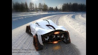 8 Crazy Amazing Snow Vehicles 😎