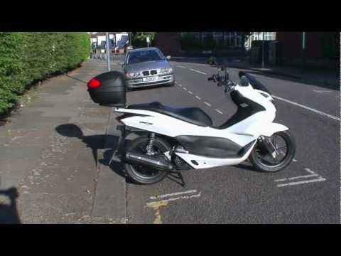 HONDA PCX 125 SCOOTER REVIEW