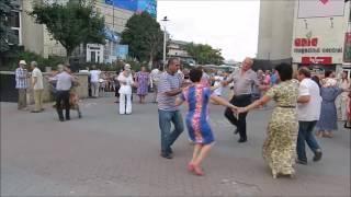 Local Moldovans dancing to old Soviet music, Chisinau, Moldova