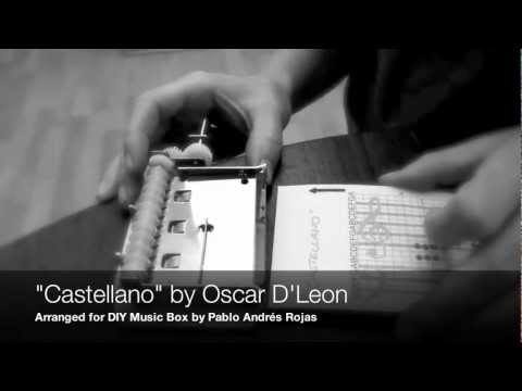 DIY Music Box: CASTELLANO by Oscar D'Leon (SALSA MAG App is available on AppStore)