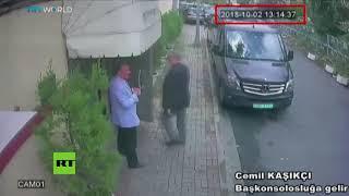 Revelan imágenes de los presuntos asesinos del periodista saudí Jamal Khashoggi