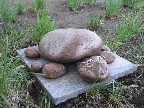 Смотреть онлайн Идеи декора дачного участка из камня