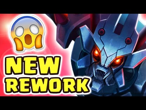 NEW REWORK KHA'ZIX 1 SECOND Q CD ONE SHOTS | RAGE QUIT (FULL AD KHA'ZIX JUNGLE) - Nightblue3