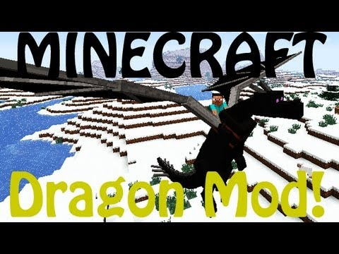 Minecraft: Dragon Mounts - Ride Dragons (Fire, Water, Ghost, Ether, Ender)!