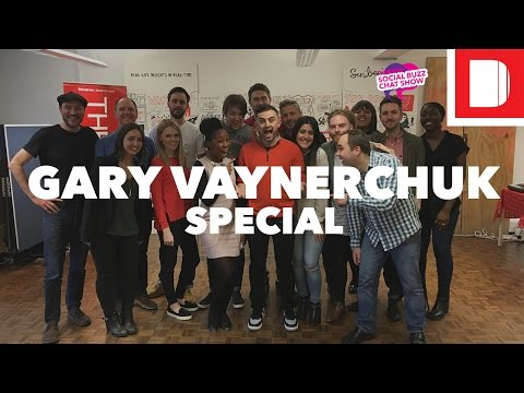 Gary Vaynerchuk Live and Uncut | #SMBuzzChat Special