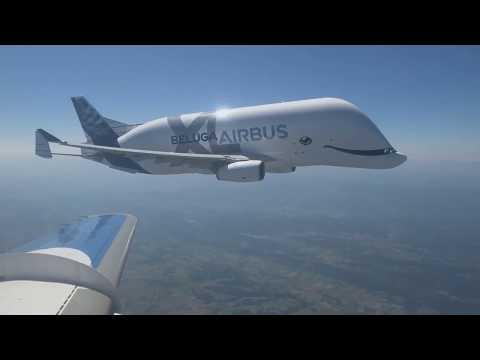 O Primeiro Voo do Airbus BelugaXL