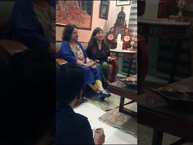 Aye Mehrban | Bushra Ansari's Sister Sumbul Shahid Singing #Shorts