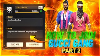 HOW TO JOIN GUCCI GANG (PART 2) // REPLY FOR HATERS🔥