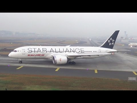 "Super Attractive Air India DreamLiner in ""Star Alliance"" Livery"