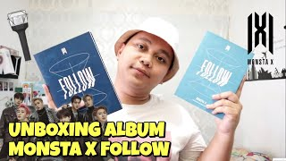 MONSTA X MINI ALBUM FOLLOW FIND YOU UNBOXING Bahasa Indonesia