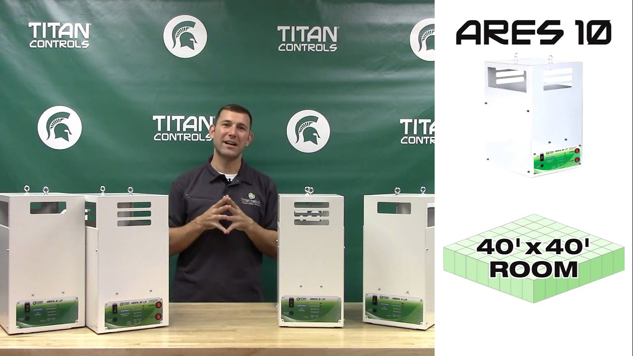 Ares Series CO2 Generators by Titan Controls
