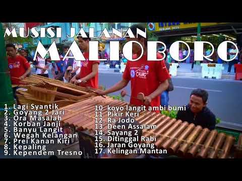 Musisi Jalanan Yogyakarta   Kumpulan musik calung Malioboro