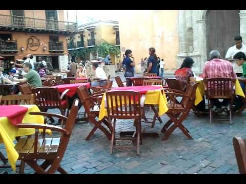 Enjoying the sights in Cartagena Colombia 2011-09-18