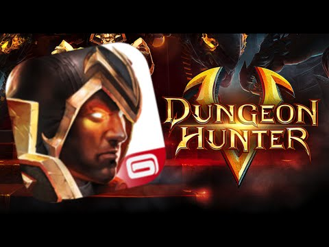 DUNGEON HUNTER 5 | IOS App Gameplay Review!