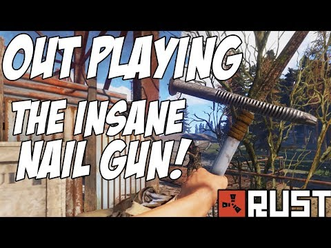 RUST   OUTPLAYING THE INSANE NAILGUN! The Solo Rebirth - Episode 3