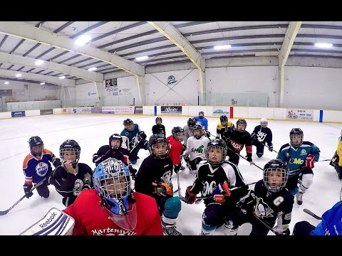 how to run hockey practice