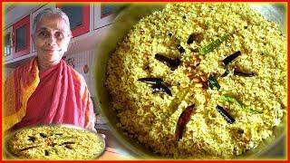 పులిహోర- చింతపండుతో-గుడి ప్రసాదం-PULIHORA Recipe-Tamarind Rice-Gamagalaxy