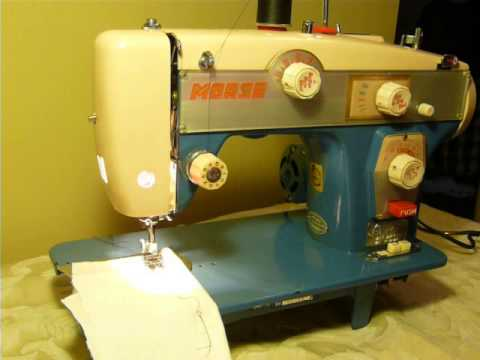 NIFTYTHRIFTYGIRL Vintage Morse Model BH Zigzag Sewing Machine Classy Morse 6300 Sewing Machine Manual