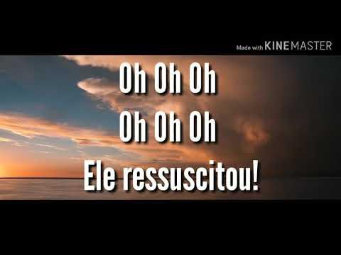 Leão E O Cordeiro - Cassiane (  Lyric Vídeo )