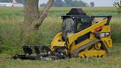 Cat® Industrial Brushcutter Operating Tips