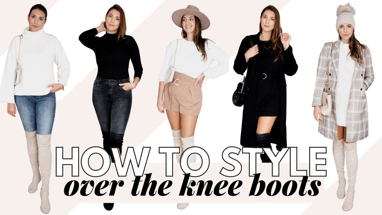 Over the Knee Boots Outfits: How To Style Over The Knee Boots