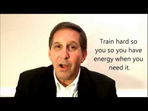 Mental wind sprints - Sales Training for Winners.