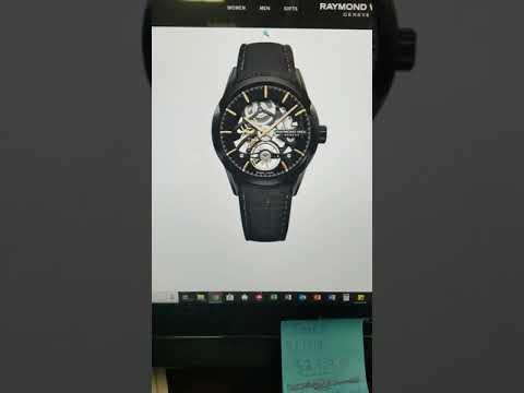 a88987513 Raymond Weil Freelancer Calibre RW1212 Skeleton Automatic Watch Update