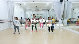Take On The World - Mickey Mouse Kids Dance Video Dance Choreography