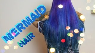 JAK FARBUJĘ WŁOSY? MERMAID Hair