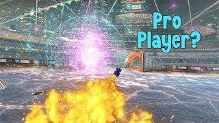 Ganhei de um Pro Player?? - Rocket League (2V2 Ranked)