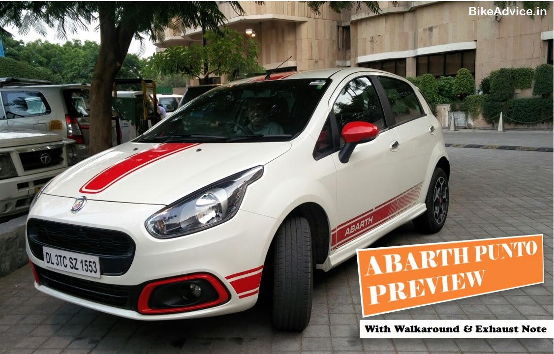 fiat abarth punto preview: first impression review & walkaround