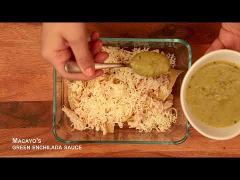 Macayo's Tomatillo Chicken Cassarole