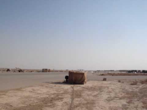 Shadow UAV Hard Landing Tikrit Iraq